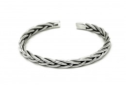 Elfi 999 Solid Silver Bond of Joy Bracelet WGB-109