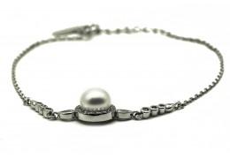 Elfi 999 Solid Silver Gold Luxumoon Bracelet WGB-110
