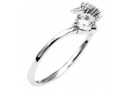 Elfi 925 Genuine Silver Adjustable Engagement Ring SGR139 (A)–Star Vision