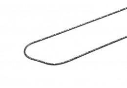 Elfi Genuine 925 Silver Snake 03 Necklace-45cm