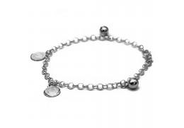 Elfi 925 Genuine Silver Bracelet Pride Of Hibiscus SB-92M