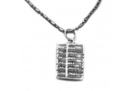 Elfi 925 Sterling Silver Abacus Pendant SP116(L)
