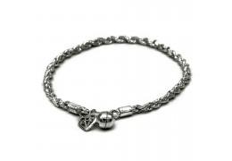 Elfi 925 Genuine Silver Bracelet Rope of Life SB-87M