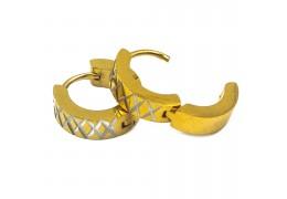 Elfi Stainless Steel Hoop Earring 3-SSH3