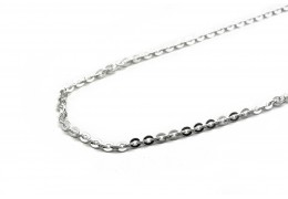 Elfi 925 Genuine Silver Necklace Anchor Link Chain 3mm
