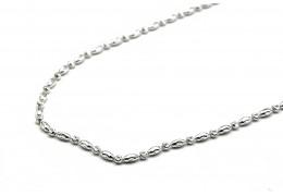 Elfi 925 Genuine Silver Necklace Melon Chain
