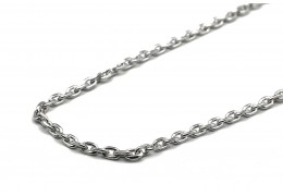 Elfi 925 Genuine Silver Necklace Thick Anchor Link Chain