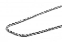 Elfi 925 Genuine Silver Necklace Twist Link 03 Chain