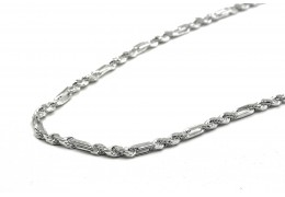 Elfi 925 Genuine Silver Necklace Twist Thick 01 Chain