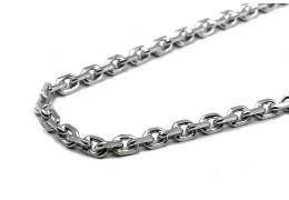 Elfi 925 Genuine Silver Necklace Anchor Link-7mm Chain