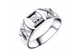 Elfi 925 Genuine Silver Engagement Ring P35 - The Greatness