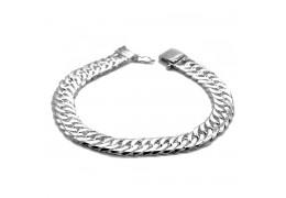 Elfi Genuine Solid 925 Silver Centipede 35g Bangle Bracelet