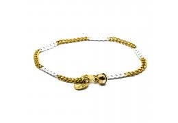 Elfi 916 Korean Gold 24K Plated River Of Life Bracelet GPB-20