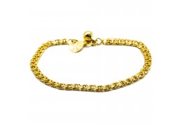 Elfi 916 Korean Gold 24K Plated The Flow Gold Bracelet GPB-26