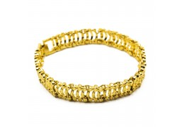 Elfi 916 Korean Gold 24K Plated Barrier Gold Bracelet GPB-27
