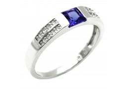 Elfi 925 Genuine Silver Ring M37(Blue) – Kalila