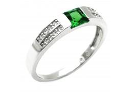 Elfi 925 Genuine Silver Ring M37(Green) – Kalila