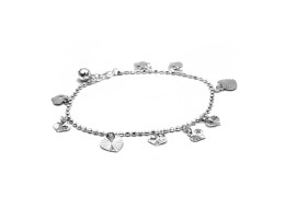 Elfi 925 Genuine Silver Bracelet Basimah SB-102M