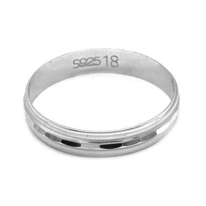 Elfi 925 Genuine Silver Ring M39 - The Forelsket Ring