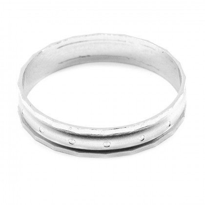 Elfi 925 Genuine Silver Ring M40 - The Shakti Ring