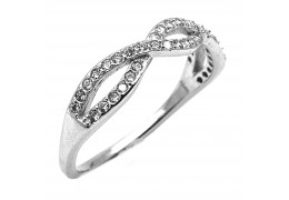 Elfi 925 Genuine Silver Engagement Ring D16 – The Treasure of Infinity
