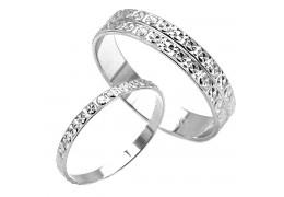 Elfi 925 Genuine Silver Couple Ring M48-C