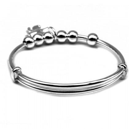 Elfi 990 Genuine Solid Silver Bracelet for Baby SB-BB17