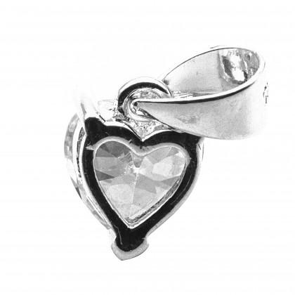 Elfi 925 Genuine Silver Heart Pendant SP168