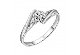Elfi 925 Sterling Silver Engagement Wedding Fashion Ladies Ring P1