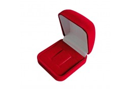 Velvet Square Shape Couple Ring Box B8