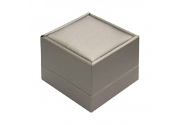 Luxury Gray Colour Couple Ring Box B13